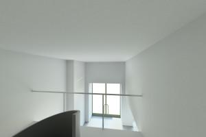 Vista escada piso 1