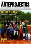 Capa Anteprojectos Edição nº 296 Especial Arquitectura 50+ Mulheres na Arquitectura