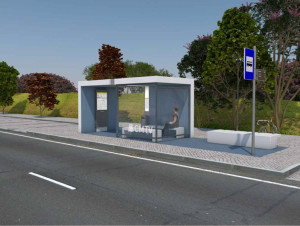 Instalação de paragens de chegada e confluência de transportes em Torres Vedras (2)