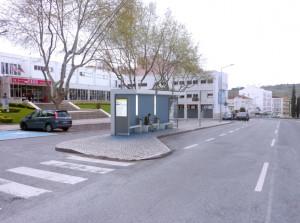 Instalação de paragens de chegada e confluência de transportes em Torres Vedras (3)