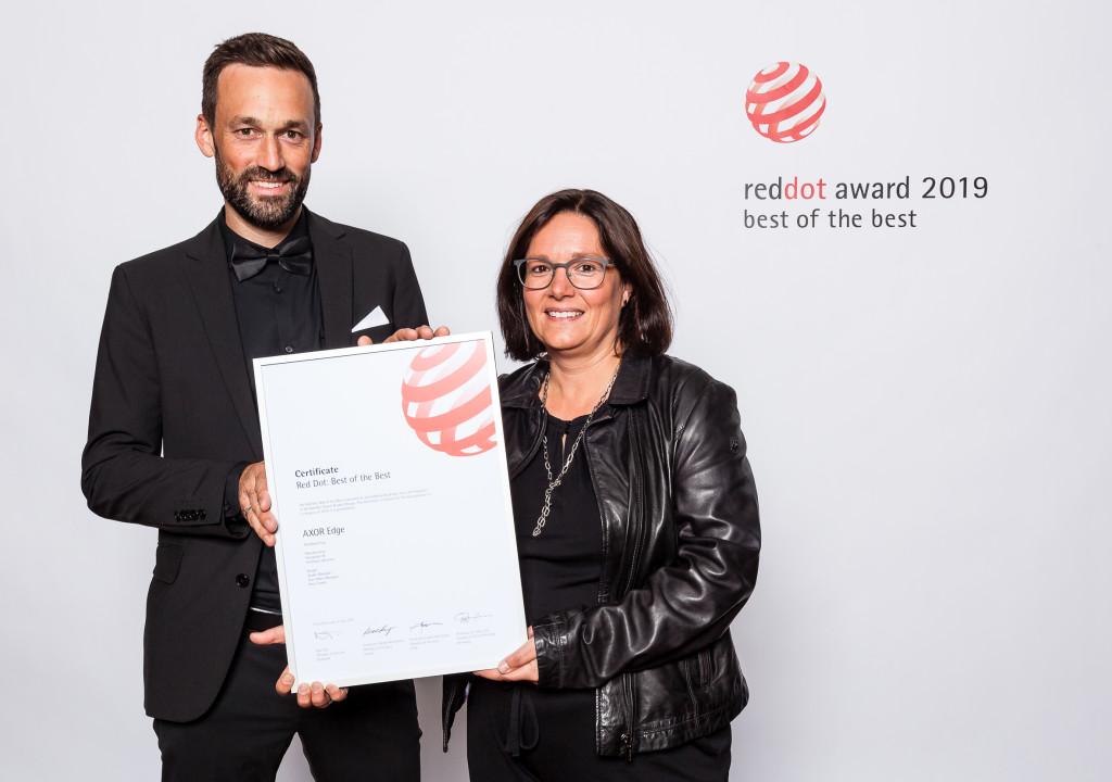 AXOR Edge recibe el Red Dot Award 2019