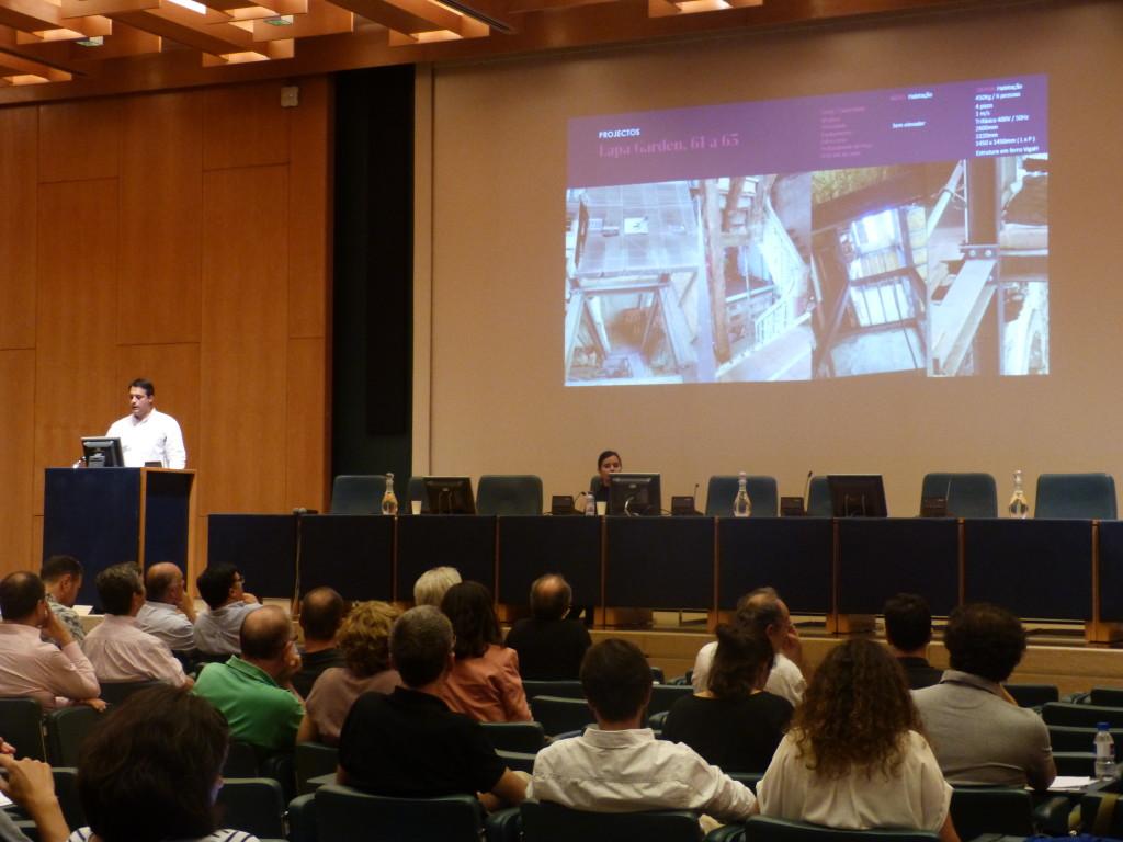 OTIS apresenta soluções para edifícios de alvenarias antigas no workshop da APRUPP