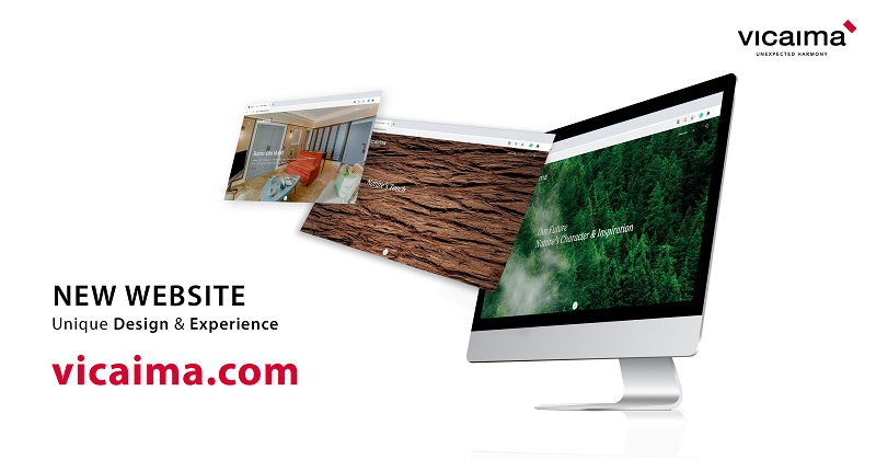 Vicaima_ New Website