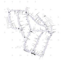 Construção de passeios para apoio à circulação pedonal