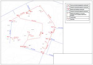 Desenho 1 - rede de águas