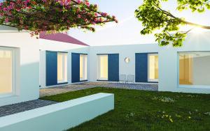 Casa R_Torres Vedras_Madalena Pereira Arquitetura_20210720_Pátio