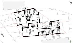 planta piso 1, 2,3 ,4