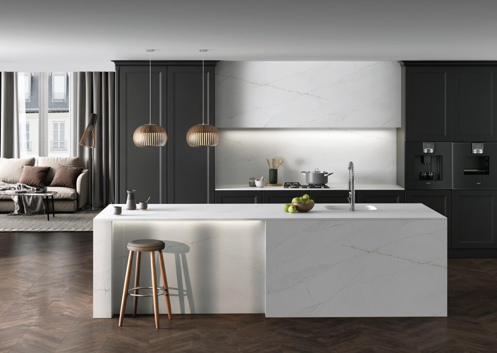 Silestone Kitchen - Ethereal Glow