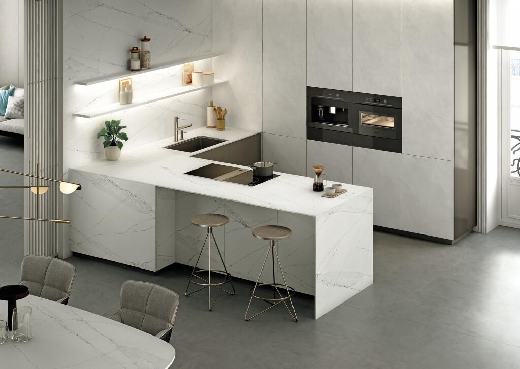 Silestone Kitchen - Ethereal Haze